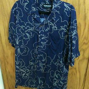 Ocean Pacific Hawaiian shirt (A-4)